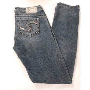 Silver Tuesday 16 1/2 Skinny Jeans Light Wash